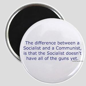 Socialist and Communist Magnet