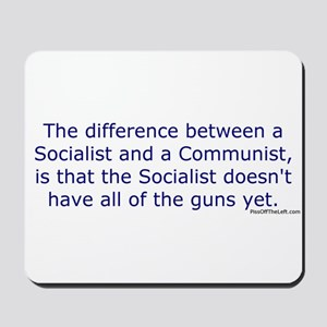 Socialist and Communist Mousepad