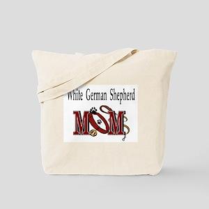White German Shepherd Tote Bag