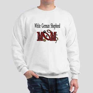 White German Shepherd Sweatshirt