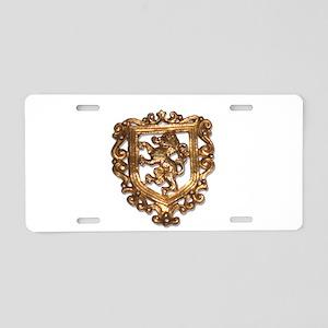 Crest Aluminum License Plate