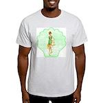 Summer Fun Ash Grey T-Shirt
