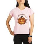 Gaelic Carved Pumpkin Women's Sports T-Shirt