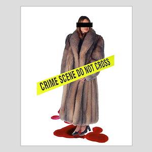 Crime Scene Small Poster