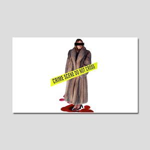Crime Scene Car Magnet 12 x 20