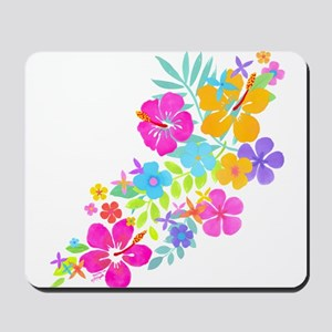 Tropical Flowers Mousepad