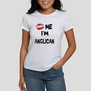 Kiss Me I'm Anglican Women's T-Shirt
