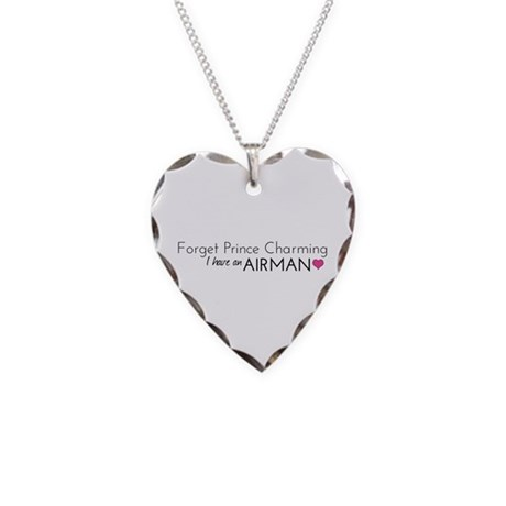 Prince Charming - Airman Necklace Heart Charm