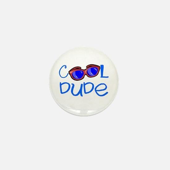 Cool Dude Mini Button