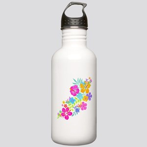 Tropical Flowers Stainless Water Bottle 1.0L