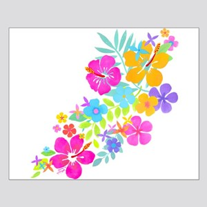 Tropical Flowers Small Poster