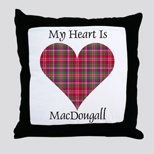 Heart - MacDougall Throw Pillow