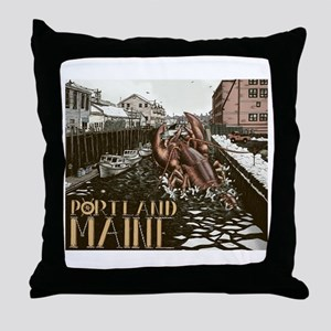 Best Lobster in the World Throw Pillow