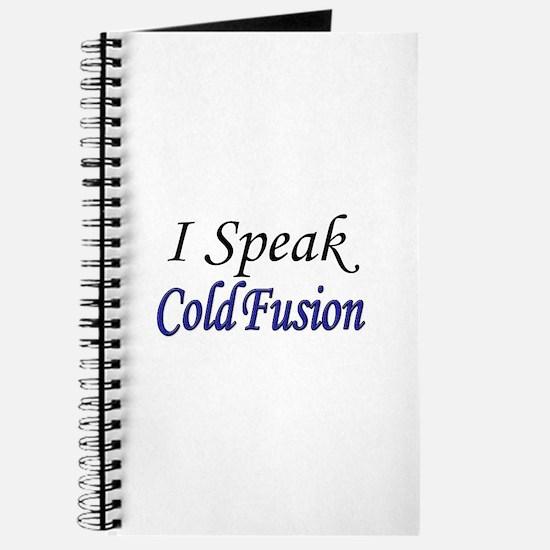 """I Speak Cold Fusion"" Journal"