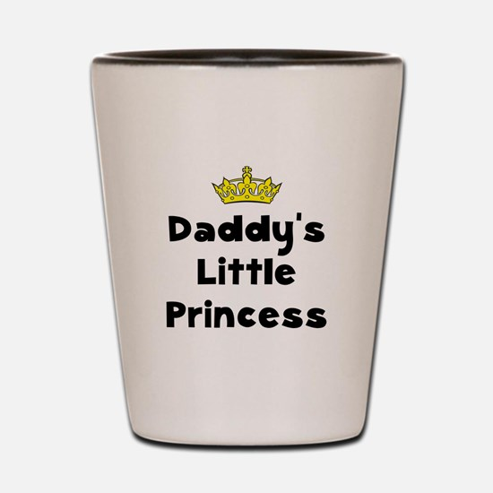 Funny Daddy and baby Shot Glass