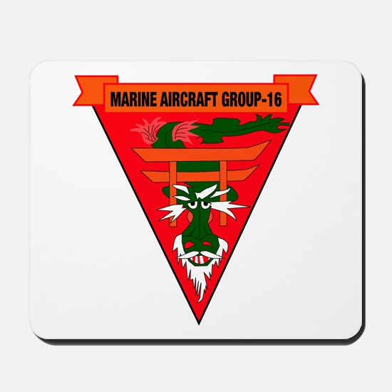Marine Aircraft Group 16 Mousepad