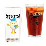 Eggucated Pint Glass
