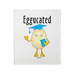 Eggucated Throw Blanket