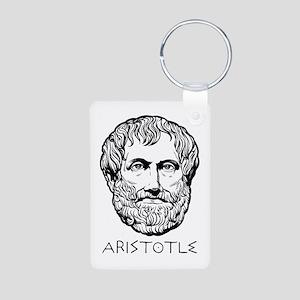 Aristotle Aluminum Photo Keychain