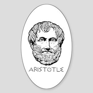 Aristotle Sticker (Oval)
