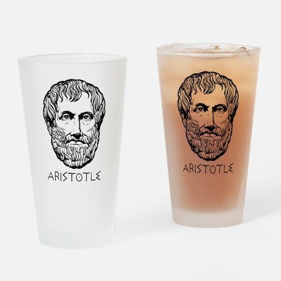 Aristotle Pint Glass