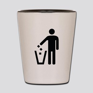 Litter Container Image Shot Glass