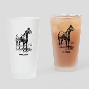 Appaloosa Pint Glass