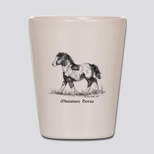Miniature Horse Foal Shot Glass