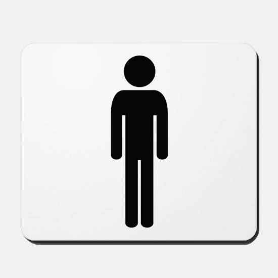 Man Image Mousepad