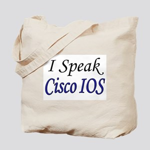 """I Speak Cisco IOS"" Tote Bag"