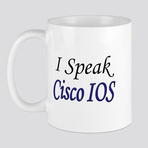 """I Speak Cisco IOS"" Mug"