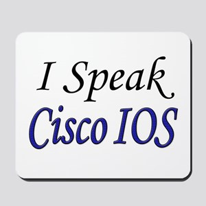 """I Speak Cisco IOS"" Mousepad"
