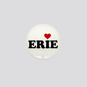 Erie with Heart Mini Button