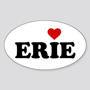 Erie with Heart Sticker (Oval)