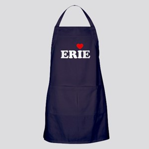 Erie with Heart Apron (dark)