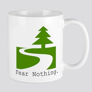 Fear Nothing. Road Less Traveled Mugs