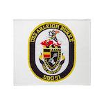 USS ARLEIGH BURKE Throw Blanket
