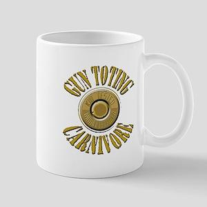 Gun Toting Carnivore Shell Ca Mug