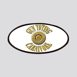 Gun Toting Carnivore Shell Ca Patches