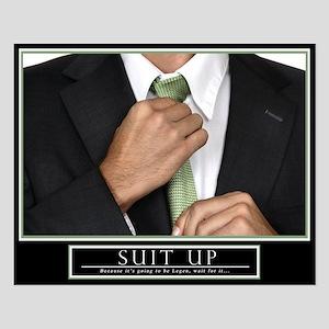 16x20 Horizontal Suit Up Motivational Poster