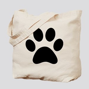Paw Print Icon Tote Bag