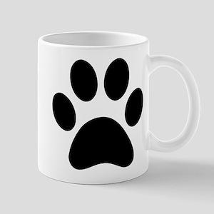 Paw Print Icon Mug