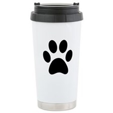 Paw Print Icon Stainless Steel Travel Mug