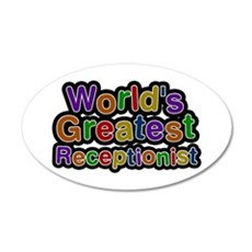 World's Greatest Receptionist Wall Decal