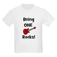 Being ONE Rocks! Guitar Kids T-Shirt