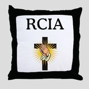 RCIA Throw Pillow