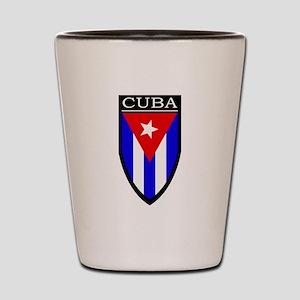 Cuba Patch Shot Glass