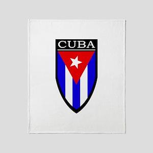 Cuba Patch Throw Blanket