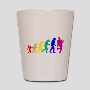 Gay Evolution Shot Glass