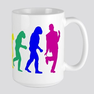 Gay Evolution Large Mug